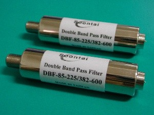 Double Band Pass Filters